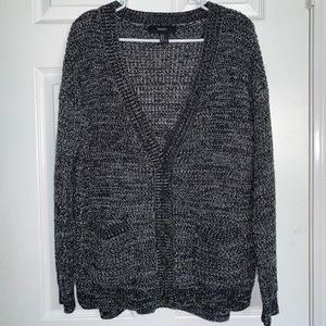 Forever21 Marled Knit Cardigan